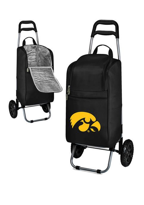 NCAA Iowa Hawkeyes Rolling Cart Cooler