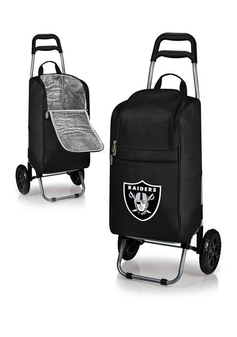 ONIVA NFL Oakland Raiders Rolling Cart Cooler