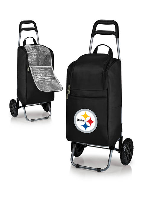 NFL Pittsburgh Steelers Rolling Cart Cooler