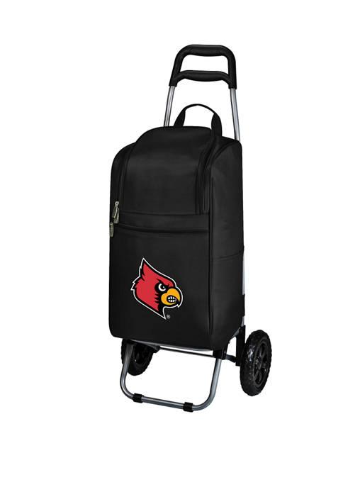 NCAA Louisville Cardinals Rolling Cart Cooler