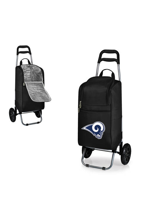 ONIVA NFL Los Angeles Rams Rolling Cart Cooler