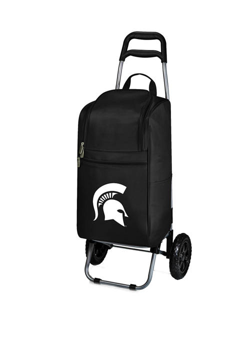 Picnic Time NCAA Michigan State Spartans Rolling Cart