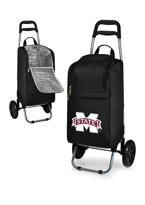 Picnic Time NCAA Mississippi State Bulldogs Rolling Cart