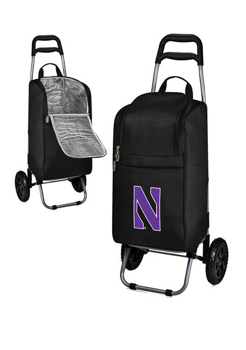 NCAA Northwestern Wildcats Rolling Cart Cooler