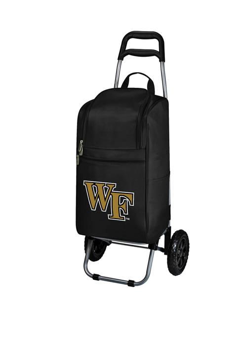 NCAA Wake Forest Demon Deacons Rolling Cart Cooler