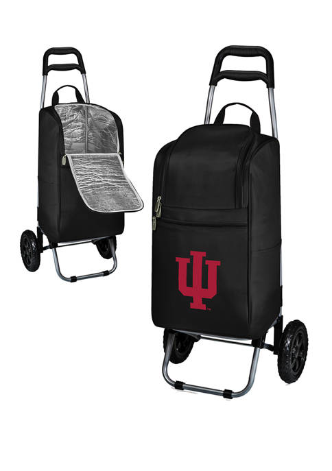 Picnic Time NCAA Indiana Hoosiers Rolling Cart Cooler
