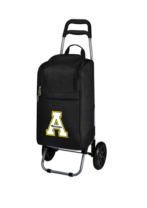 Picnic Time NCAA App State Mountaineers Rolling Cart