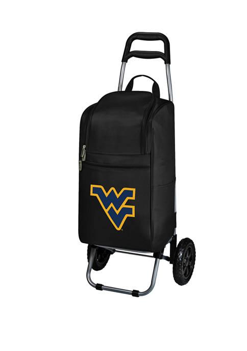 NCAA West Virginia Mountaineers Rolling Cart Cooler