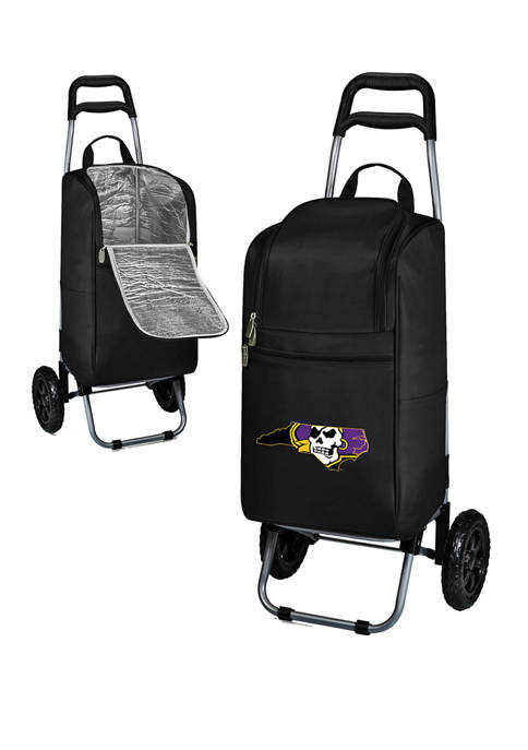 NCAA East Carolina Pirates Rolling Cart Cooler