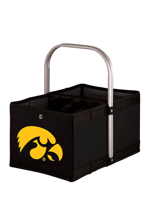 Picnic Time NCAA Iowa Hawkeyes Urban Basket Collapsible