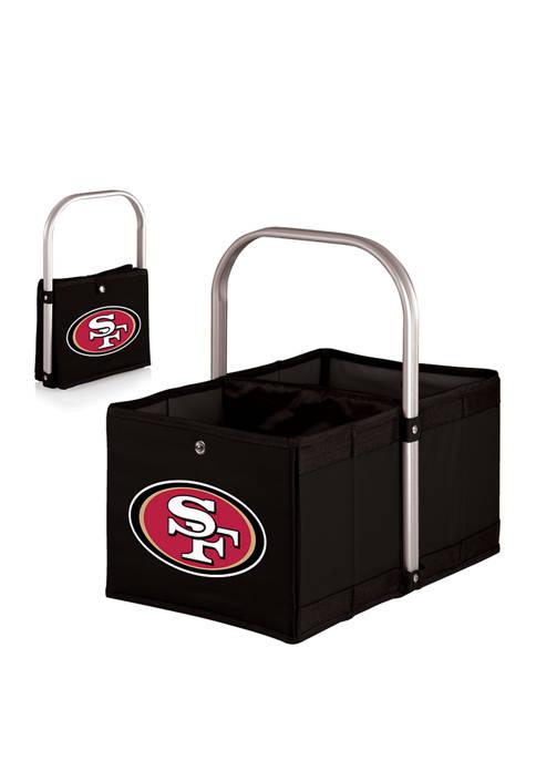 NFL San Francisco 49ers Urban Basket Collapsible Tote