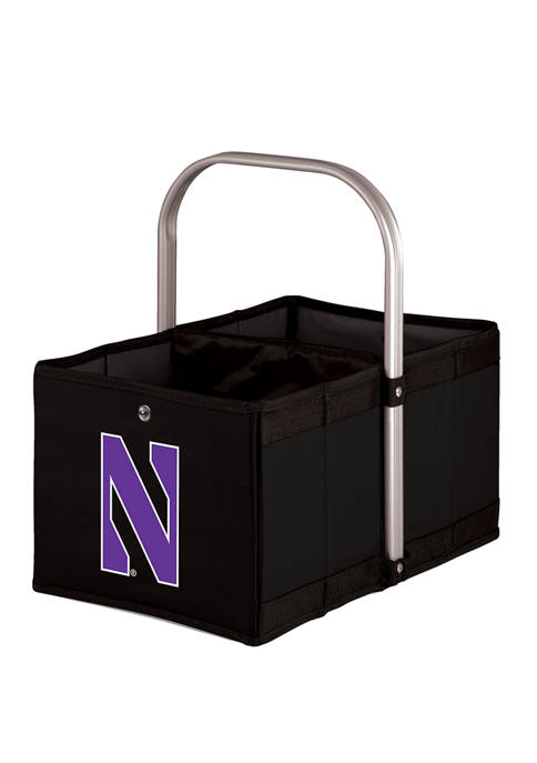 NCAA Northwestern Wildcats Urban Basket Collapsible Tote