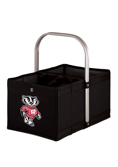 NCAA Wisconsin Badgers Urban Basket Collapsible Tote