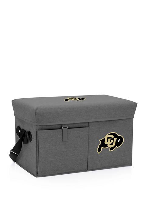 Picnic Time NCAA Colorado Buffaloes Ottoman Portable Cooler