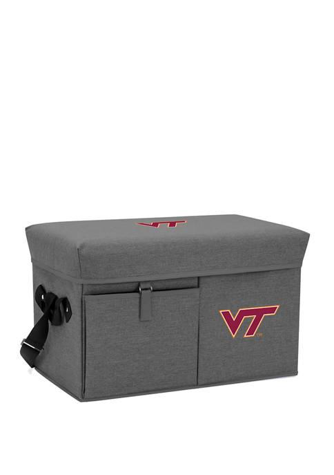 NCAA Virginia Tech Hokies Ottoman Portable Cooler
