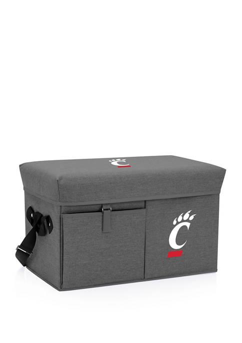 NCAA Cincinnati Bearcats Ottoman Portable Cooler