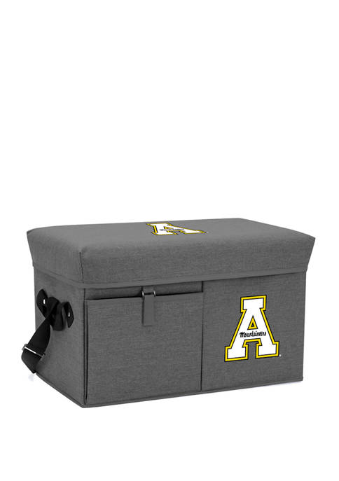NCAA App State Mountaineers Ottoman Portable Cooler