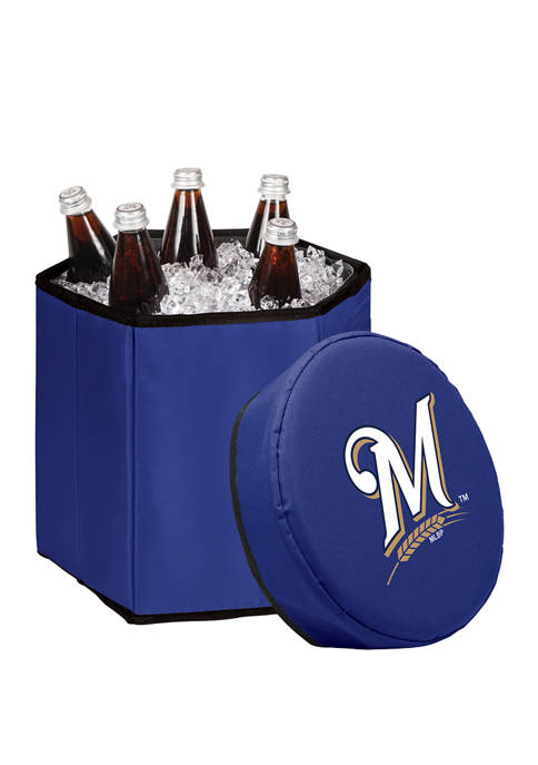 MLB Milwaukee Brewers Bongo Portable Cooler & Seat
