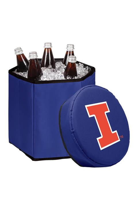 NCAA Illinois Fighting Illini Bongo Portable Cooler & Seat