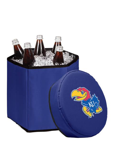 NCAA Kansas Jayhawks Bongo Portable Cooler & Seat