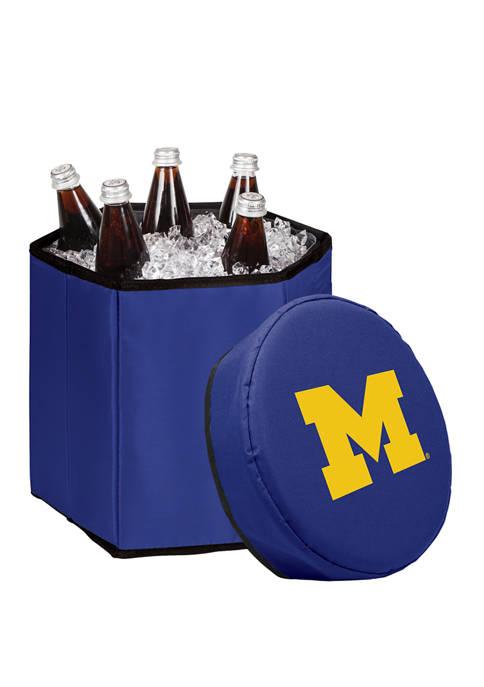 NCAA Michigan Wolverines Bongo Portable Cooler & Seat
