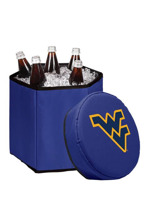 NCAA West Virginia Mountaineers Bongo Portable Cooler and Seat