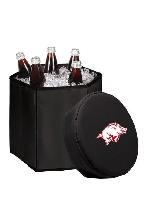 NCAA Arkansas Razorbacks Bongo Portable Cooler & Seat