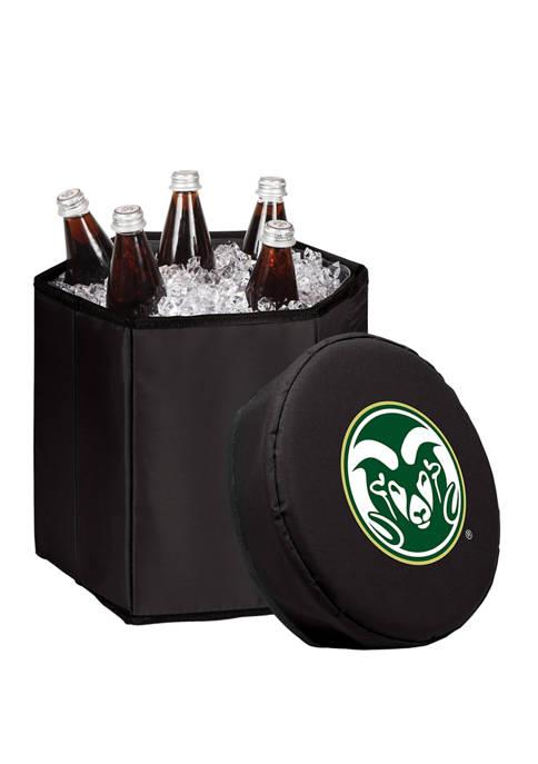 NCAA Colorado State Rams Bongo Portable Cooler & Seat