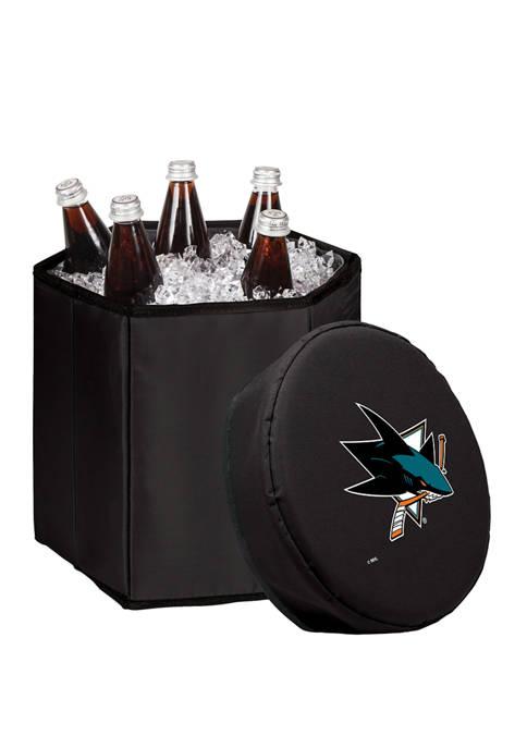 NHL San Jose Sharks Bongo Portable Cooler & Seat