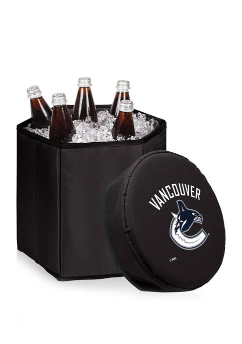 NHL Vancouver Canucks Bongo Portable Cooler & Seat