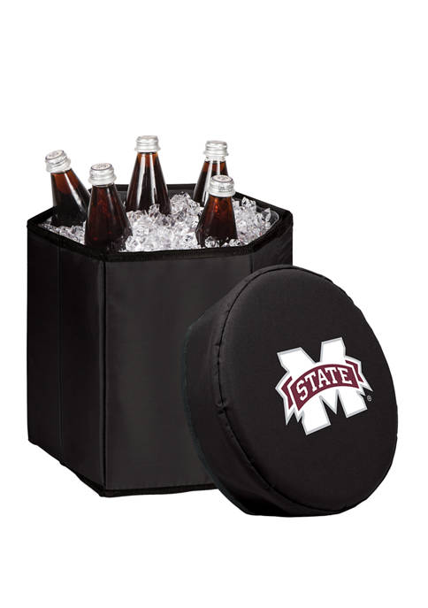 NCAA Mississippi State Bulldogs Bongo Portable Cooler & Seat
