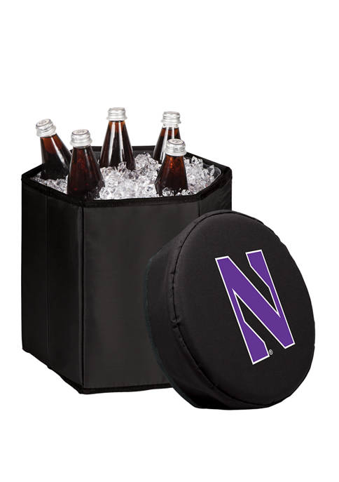 NCAA Northwestern Wildcats Bongo Portable Cooler & Seat