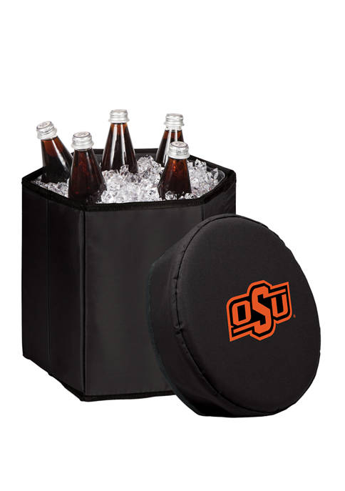 NCAA Oklahoma State Cowboys Bongo Portable Cooler and Seat