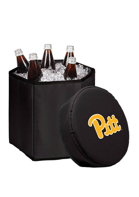 NCAA Pittsburgh Panthers Bongo Portable Cooler and Seat