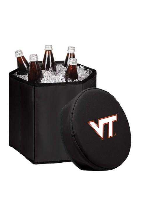 NCAA Virginia Tech Hokies Bongo Portable Cooler & Seat