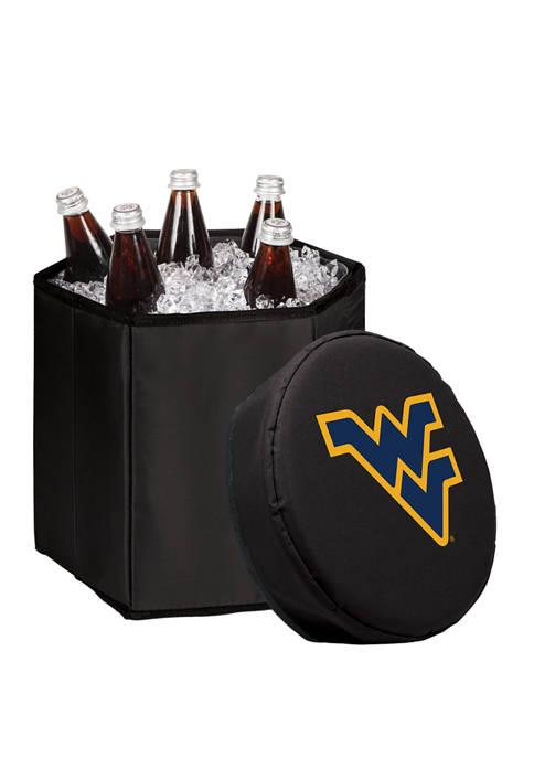 NCAA West Virginia Mountaineers Bongo Portable Cooler & Seat
