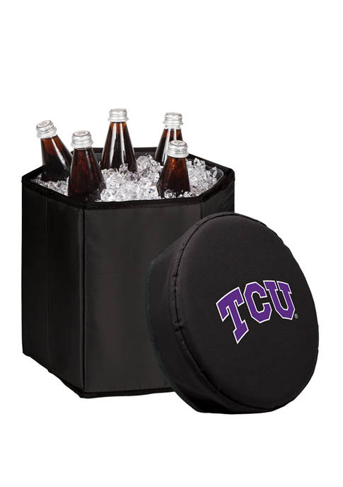 NCAA TCU Horned Frogs Bongo Portable Cooler & Seat