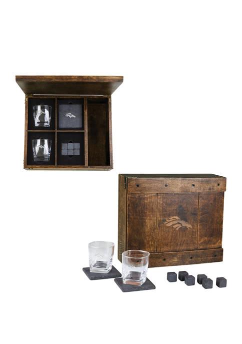 Legacy® NFL Denver Broncos Whiskey Box Gift Set