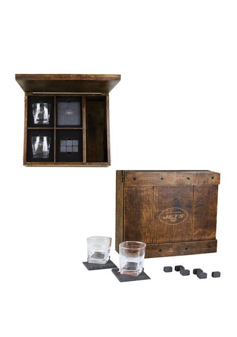 Legacy® NFL New York Jets Whiskey Box Gift