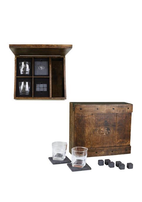 Legacy® NFL San Francisco 49ers Whiskey Box Gift