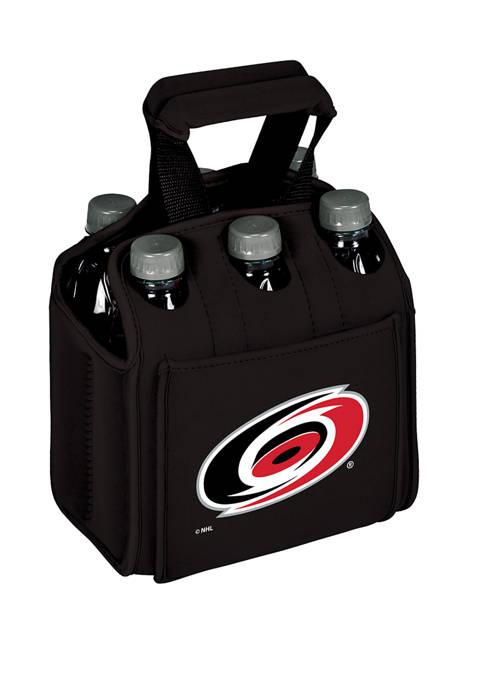 NHL Carolina Hurricanes Six Pack Beverage Carrier