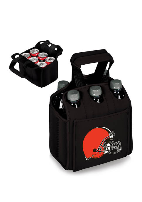 ONIVA NFL Cleveland Browns Six Pack Beverage Carrier