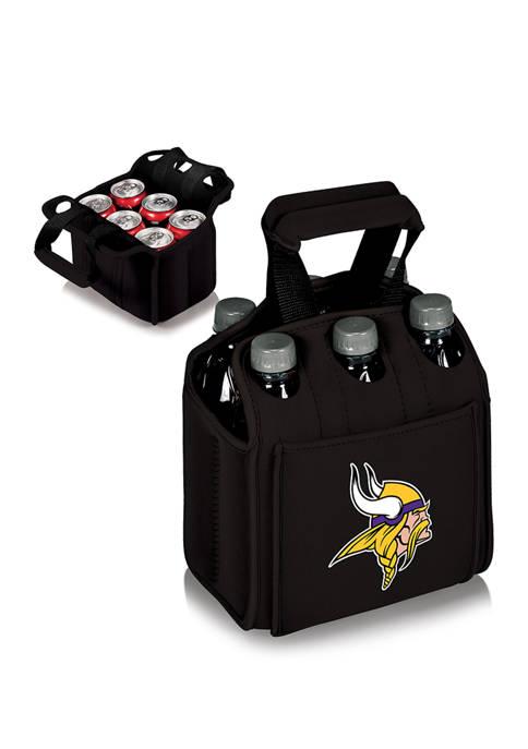 NFL Minnesota Vikings Six Pack Beverage Carrier
