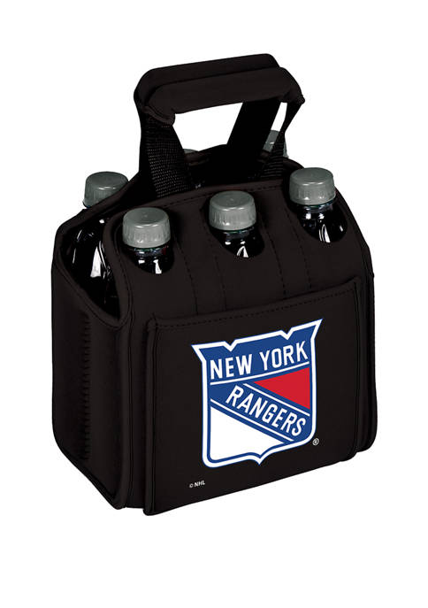 NHL New York Rangers Six Pack Beverage Carrier