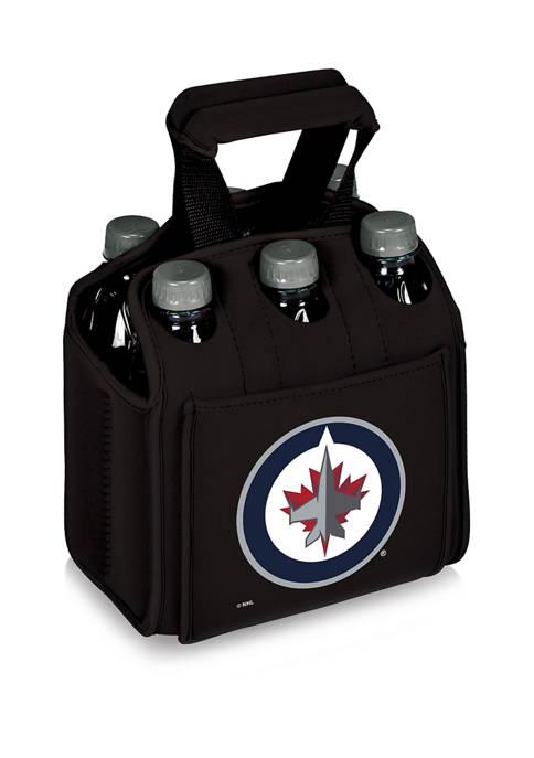 NHL Winnipeg Jets Six Pack Beverage Carrier