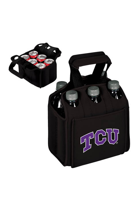 TOSCANA NCAA TCU Horned Frogs Six Pack Beverage