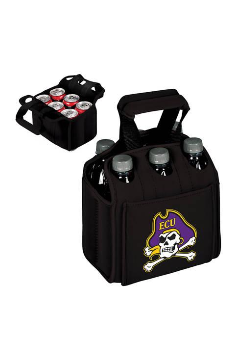 TOSCANA NCAA East Carolina Pirates Six Pack Beverage