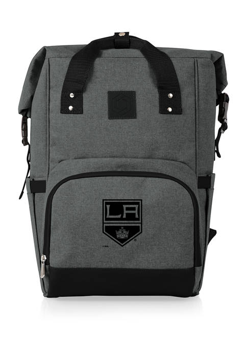 NHL Los Angeles Kings On The Go Roll-Top Cooler Backpack