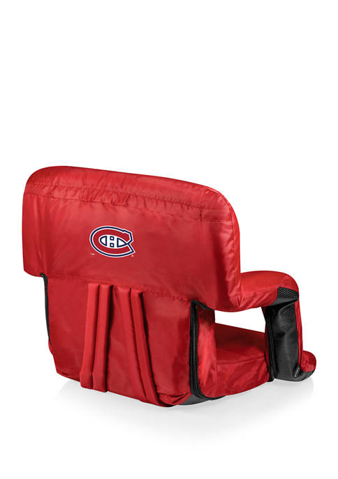 NHL Montreal Canadiens Ventura Portable Reclining Stadium Seat