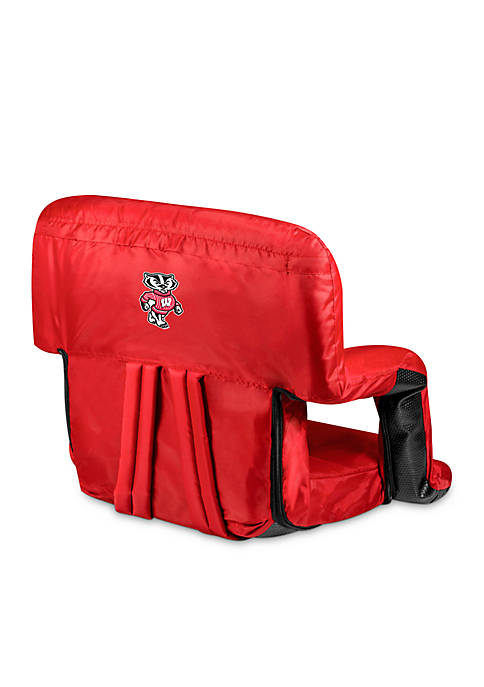 Picnic Time Wisconsin Badgers Ventura Chair